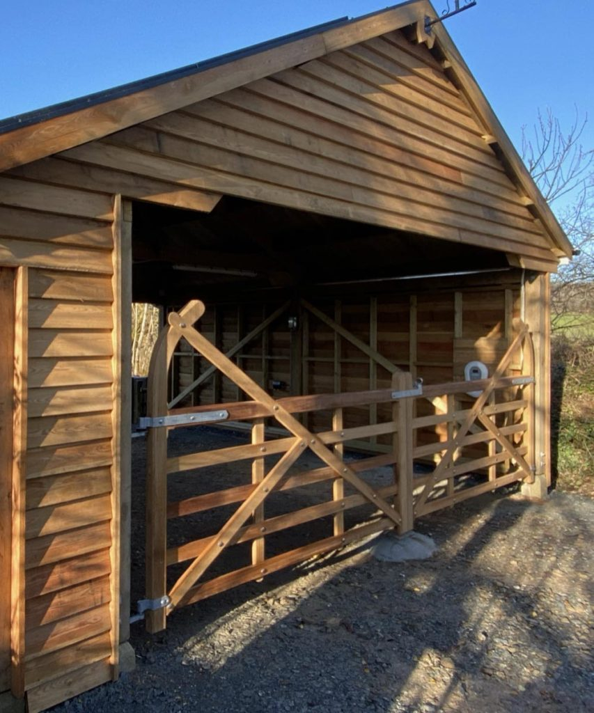 Custom Made Wooden Gates Joinery